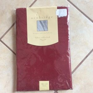 NWT 52x70 Oblong Tabletop /Cloth/cover